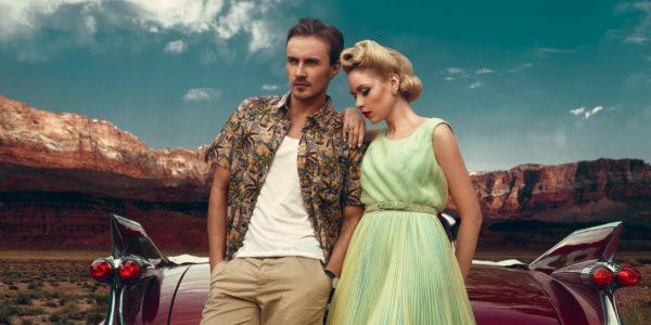 Portfolio Review - Boutique Retouching - 50s editorial ben mueller banner