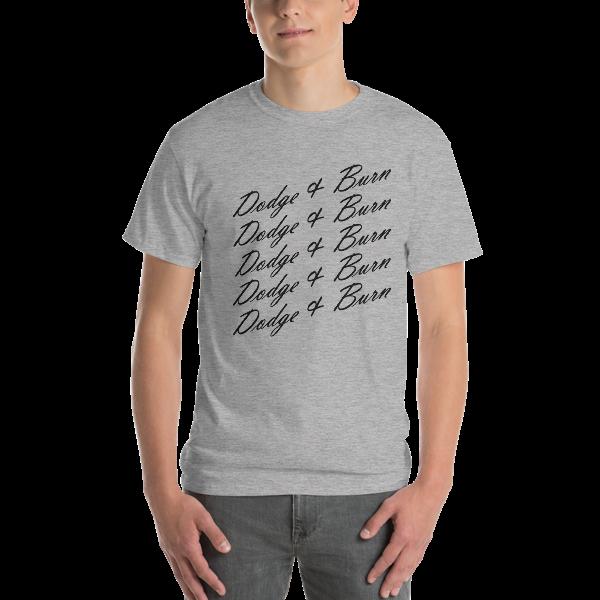 Dodge And Burn Love - T-shirt - Men - Boutique Retouching - mockup 4ecd3887