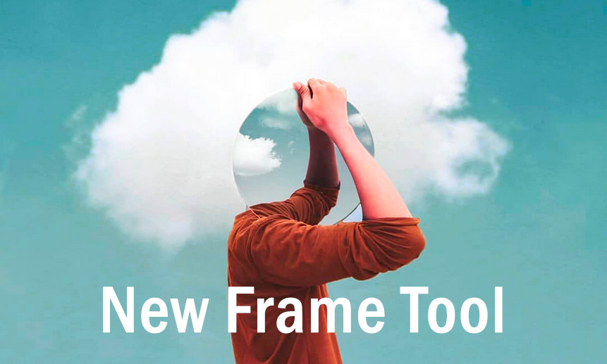 Boutique Retouching frame-tool-video All Things Adobe Photoshop CC 2019 & New Features
