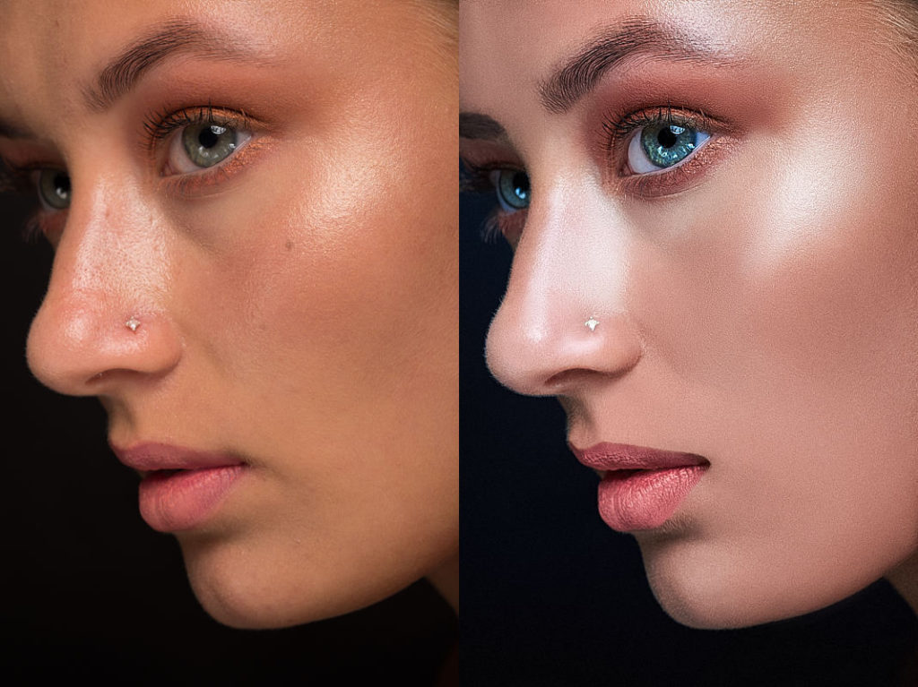 Learn From A High End Retoucher - Retouching Critique For Martin Beck - Boutique Retouching - Girl 3 before and after