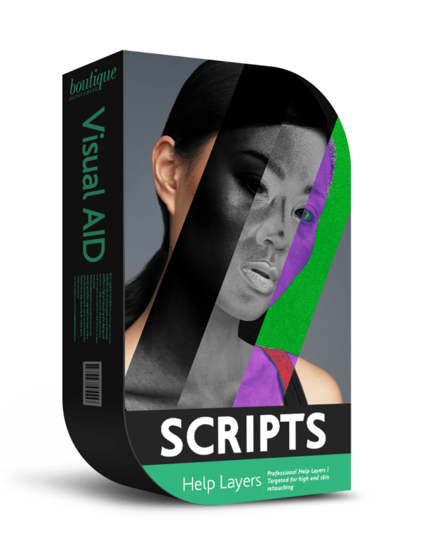 Visual Aid PRO - High End Retouching Help Layers + Tutorial - Boutique Retouching - visual aid
